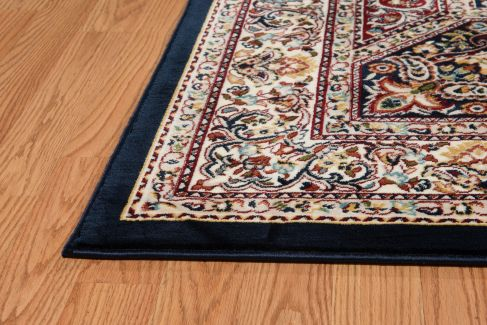 United Weavers Antiquities Qum Diamond Navy 7'10