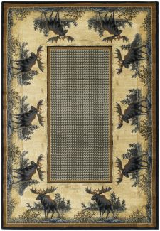 United Weavers Hautman Genesis Northwood Moose Natural