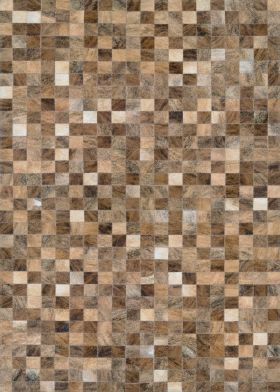 Couristan Chalet Pixels Brown