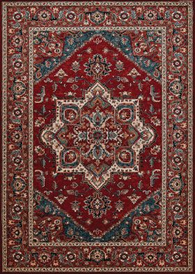 Couristan Old World Classic Antique Mashad Antique Red