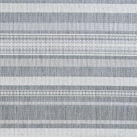 Couristan Recife Gazebo Stripe Champ/Grey