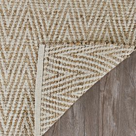 Couristan Nature's Elements Foothills Straw/Timber