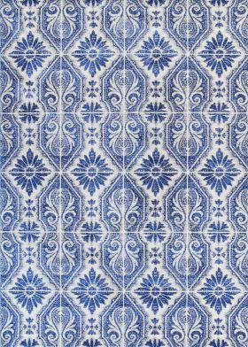 Couristan Sevilla Algaba Azul