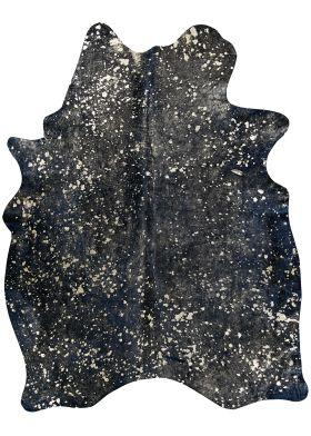 "Couristan Chalet Moo-nstruck Black 7'0"" x 7'4"" Skin"