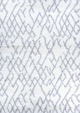 Couristan Urban Shag Fes White/Light Grey