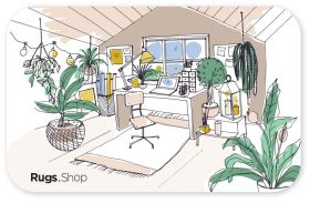 Area Rug Office Generic Gift Card