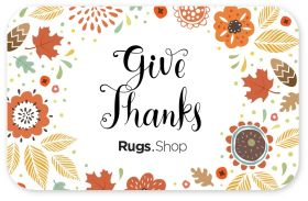 Give Thanks Autumn Gift Card