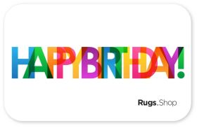 Happy Birthday Color Gift Card