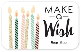 "Happy Birthday ""Make a Wish"" Gift Card"