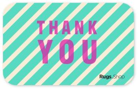 Thank You Stripes Gift Card
