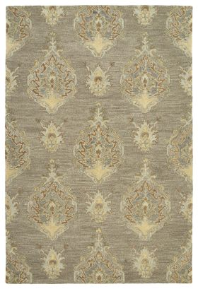 """Kaleen Brooklyn Collection Taupe 5'0"""" x 7'6"""""""