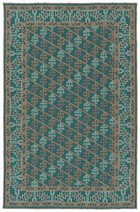 Kaleen Ayrlies Garden Collection Teal