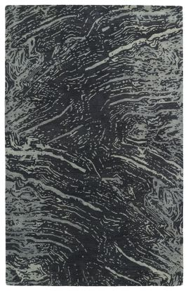 Kaleen Brushstrokes Collection Charcoal