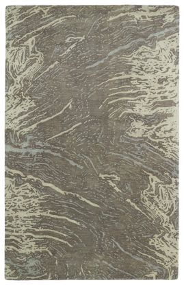 Kaleen Brushstrokes Collection Brown