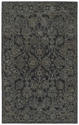 Kaleen Courvert Collection Charcoal