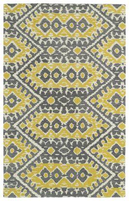 Kaleen Global Inspiration Collection Yellow