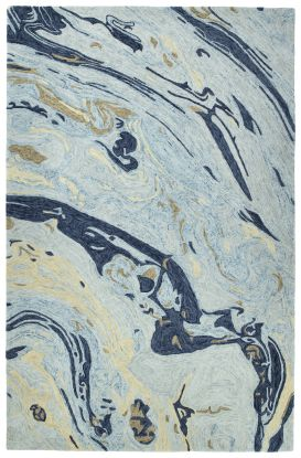 Kaleen Marble Collection Blue