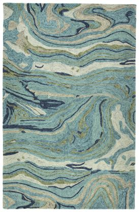 Kaleen Marble Collection Teal
