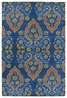 Kaleen Melange Collection Blue