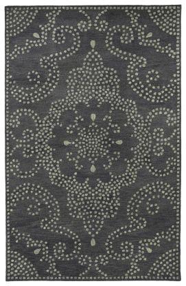 Kaleen Rosaic Collection Charcoal