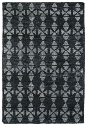 Kaleen Solitaire Collection Charcoal