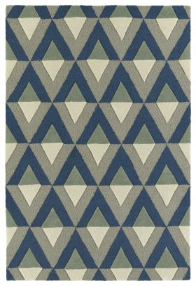 Kaleen Spaces Collection Blue