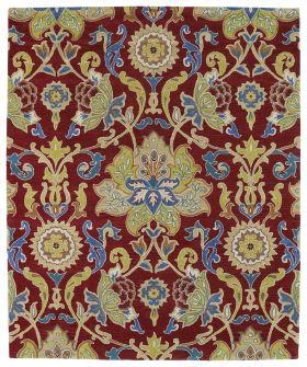 Kaleen Taj Collection Red