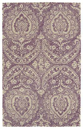 Kaleen Weathered Collection Purple