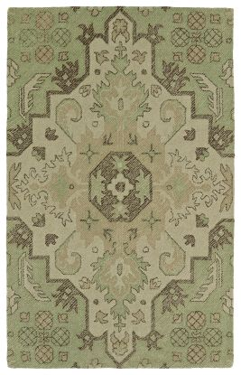Kaleen Weathered Collection Green