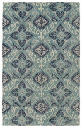 Kaleen Weathered Collection Teal