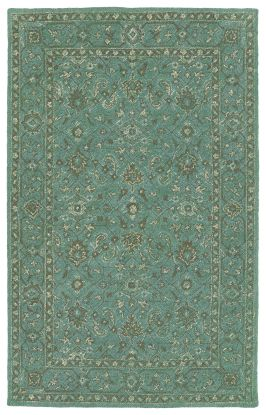 Kaleen Weathered Collection Turquoise
