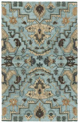 Kaleen Zocalo Collection Blue