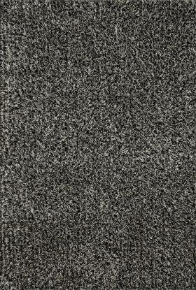 "Loloi Carrera Shag CG-02 SALT AND PEPPER 1'6"" x 1'6"""