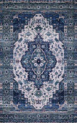 Justina Blakeney X Loloi Cielo CIE-01 IVORY / TURQUOISE