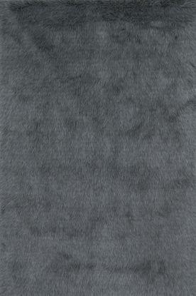 """Loloi Danso Shag DA-09 GRAPHITE 1'6"""" x 1'6"""""""