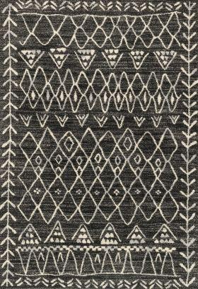 Loloi Emory EB-09 BLACK / IVORY