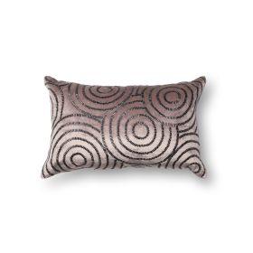 "Loloi Pillows P0110 CHARCOAL / BLACK 1'1"" x 1'9"""