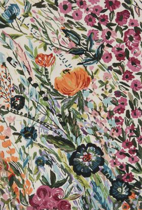 Loloi Wild Bloom WV-01 IVORY / MULTI
