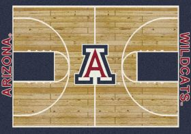 Milliken College Home Court Arizona Blue/Red/Tan