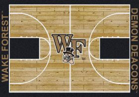 Milliken College Home Court Wake Forest Multi