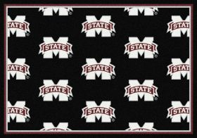 "Milliken College Repeating Mississippi State Multi 7'8"" x 10'9"""