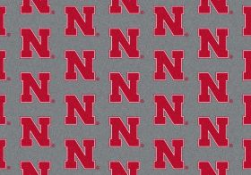 "Milliken College Repeating Nebraska Multi 10'9"" x 13'2"""