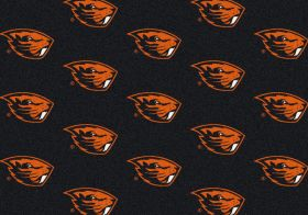 "Milliken College Repeating Oregon State Multi 3'10"" x 5'4"""