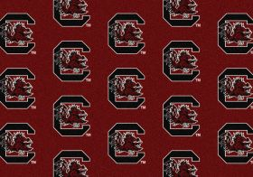 "Milliken College Repeating South Carolina Multi 7'8"" x 10'9"""