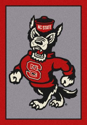 "Milliken College Team Spirit North Carolina State Multi 5'4"" x 7'8"""