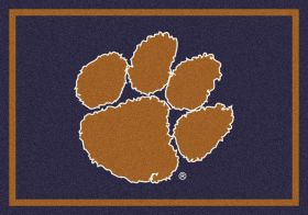 "Milliken College Team Spirit Clemson Multi 3'10"" x 5'4"""