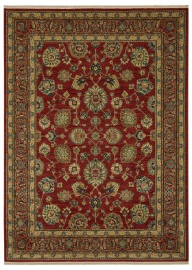 "Karastan Rugs Sovereign Sultana Red 5'9"" x 9'0"""