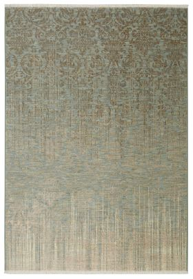 "Karastan Rugs Titanium Tiberio Seaglass 8'0"" x 11'0"""