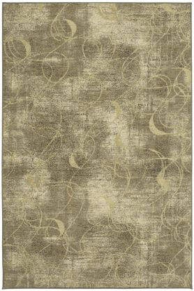 "Karastan Rugs Titanium Xenia Grey by Virginia Langley 5'3"" x 7'10"""