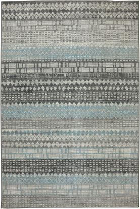Karastan Rugs Euphoria Eddleston Ash Grey Cream